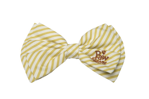 Southern Charm Collection - Chartreuse Stripe - Bow Tie