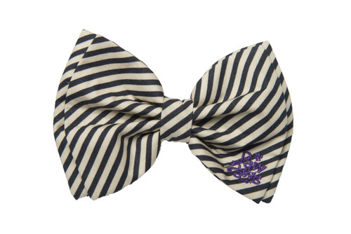 Southern Charm Collection - Midnight Stripe - Bow Tie