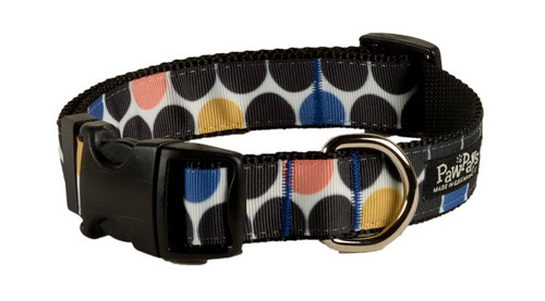 Geo Dog Collar - Round About Spheres