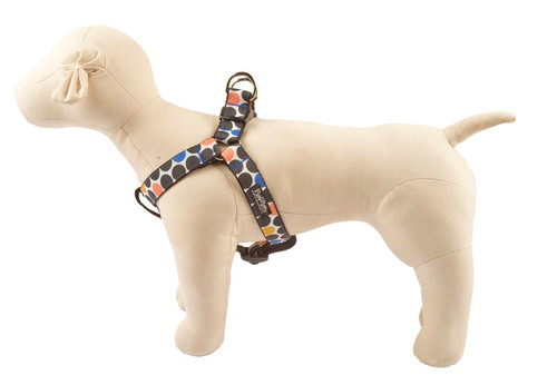 Geo Dog Harness - Round About Spheres