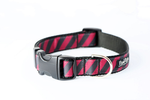 Collegiate - GameCocks06 Dog Collar Rep Pride Stripe