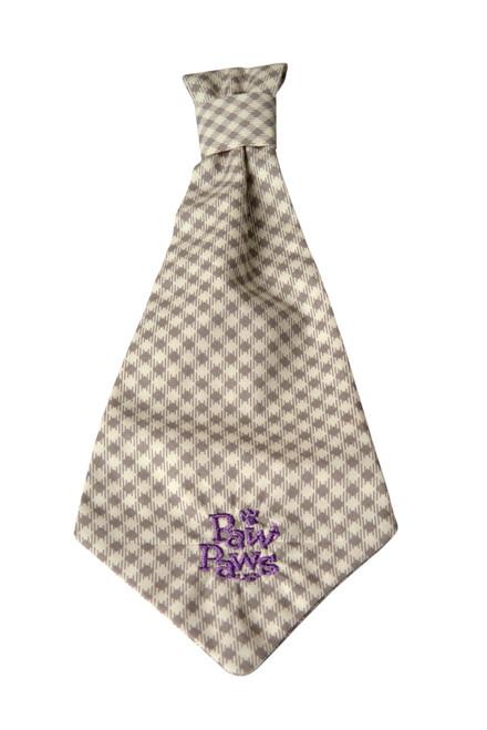 Southern Charm Collection - Checks Ash - Neck Tie