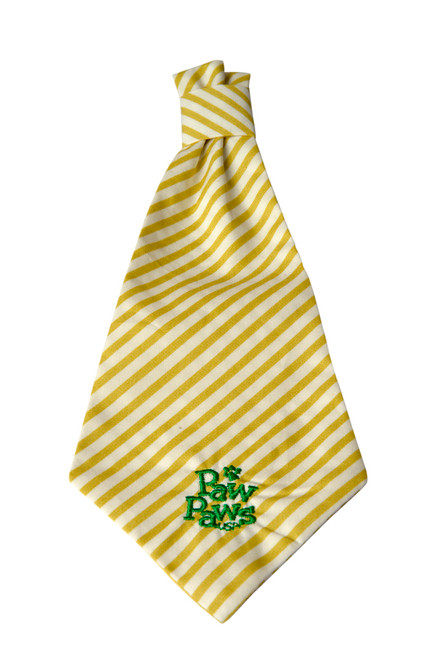 Southern Charm Collection - Chartreuse Stripe - Neck Tie
