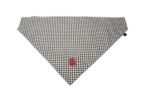 Southern Charm Collection - Checks Midnight - PawKerchief