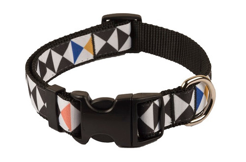 Geo Dog Collar - Random Trig
