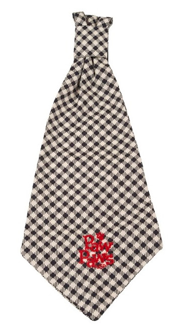 Southern Charm Collection - Checks Midnight - Neck Tie