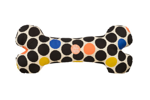 Dog Bone Pillow-Geo Collection - Round About Spheres