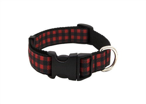 Fireside Dog Collar - Cocoa Red