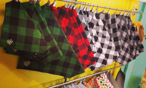 Buffalo Plaid Flannel Pawkerchiefs