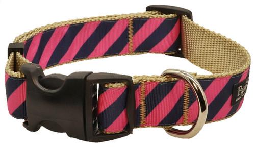 Prepster Rip Tie - Pink Polo Collar - Sku 901