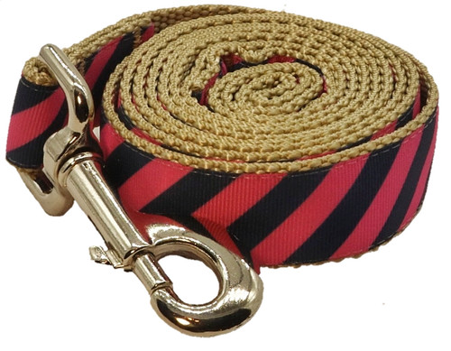 Prepster Rip Tie - Pink Polo Leash - Sku 901