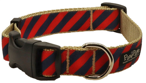 Prepster Rip Tie - Gin & Tonic Red Collar - Sku 902