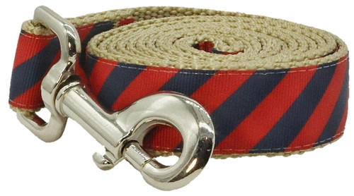 Prepster Rip Tie - Gin & Tonic Red Leash - Sku 902