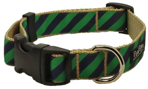 Prepster Rip Tie - Ivy League Green Collar - Sku 903