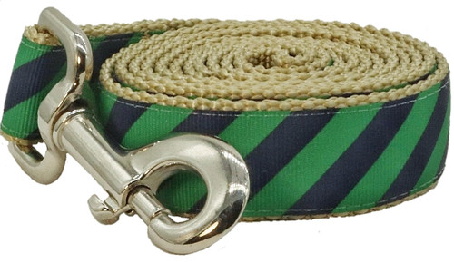 Prepster Rip Tie - Ivy League Green Leash - Sku 903