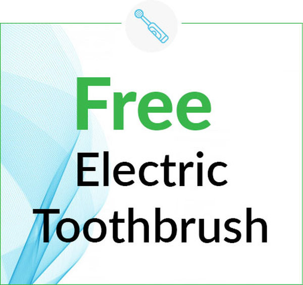 Free Electric Toothbrush with Teeth Cleaning Service in Ann Arbor and Ypsilanti (Ypsi), Washtenaw, Michigan