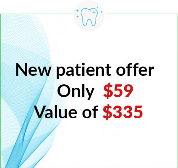 Free whitening Kit will come now with/after patient finish regular cleaning and check-up for $59