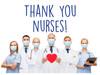 "COVID-19 Yard Sign - Thank You Nurses - 18"" x 24"""