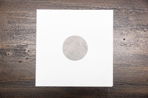 """12"""" Blank Poly Lined Inner Sleeve"""