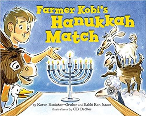 Farmer Kobi's Hanukkah Match (Hardcover)