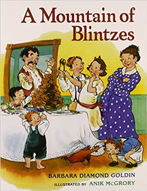 A Mountain of Blintzes (Paperback)