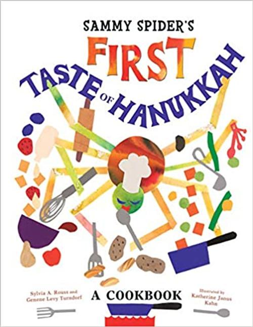 Sammy Spider's First Taste of Hanukkah: A Cookbook (Paperback)