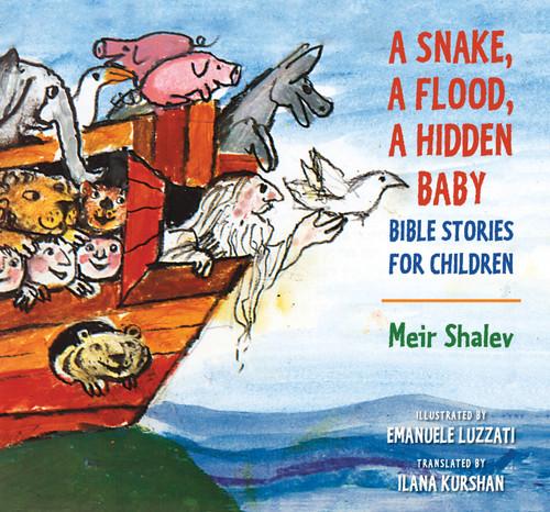 A Snake, a Flood, a Hidden Baby: Bible Stories for Children (Hardcover)