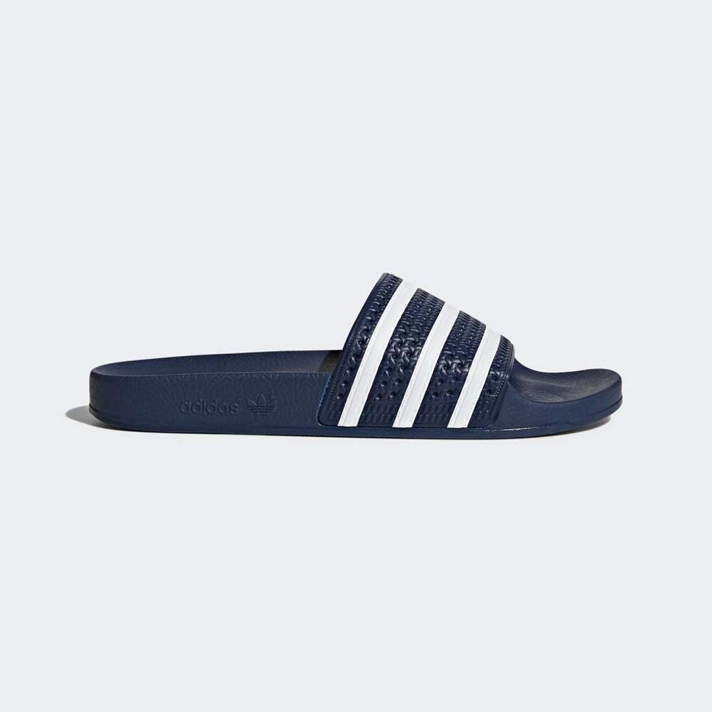 4eb30528b Men s Blue adidas Adilette Slides - TYLER S