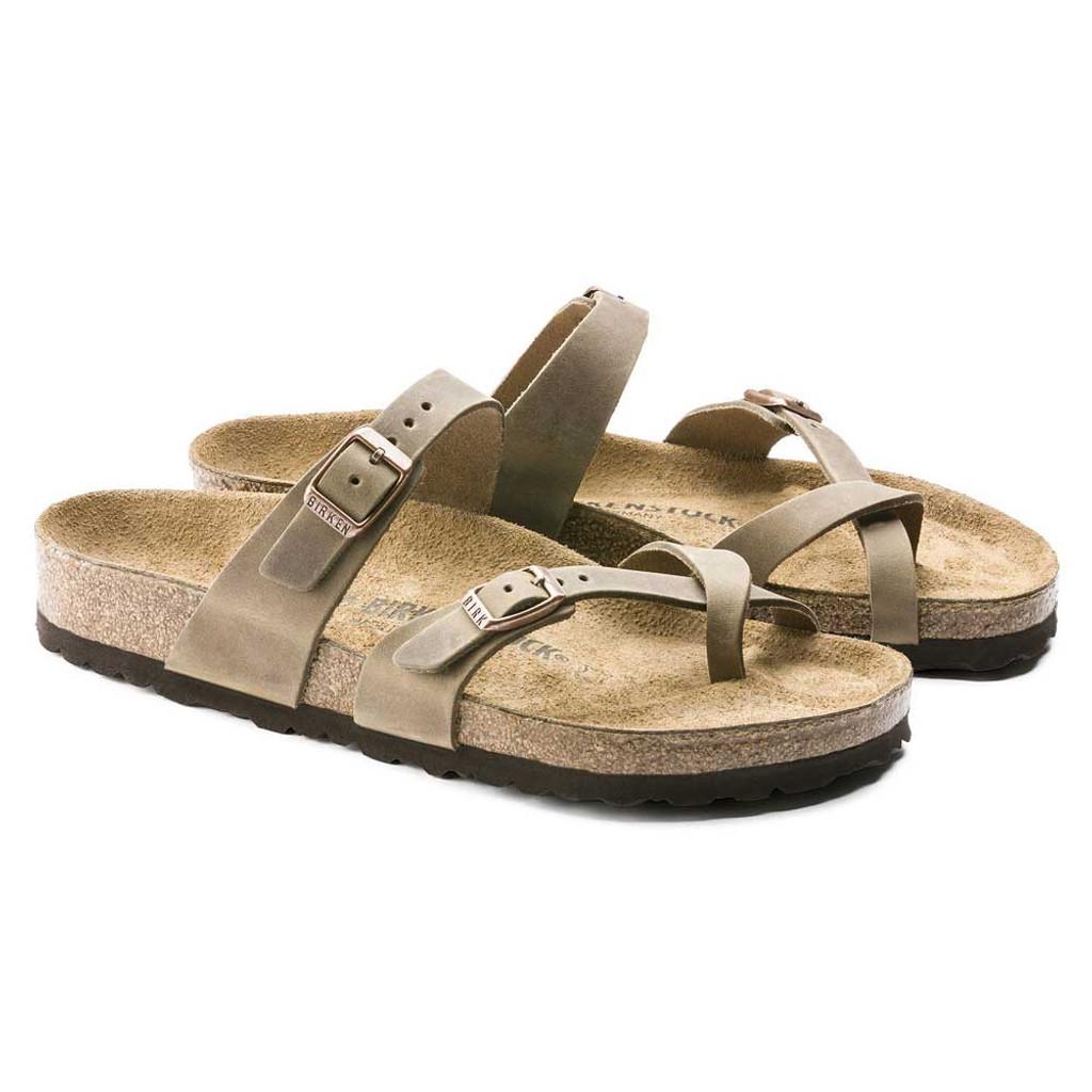 e926174f831 Women s Mayari Oiled Leather Tobacco Sandals - TYLER S