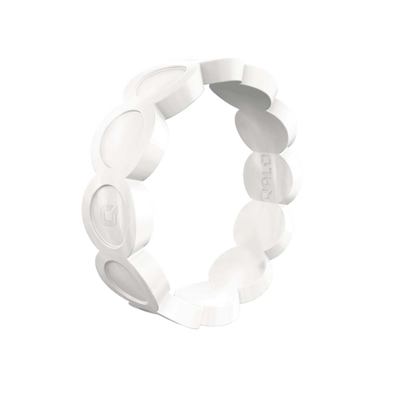 9678324be07d2 Women's Pearl Scallop Silicone Ring