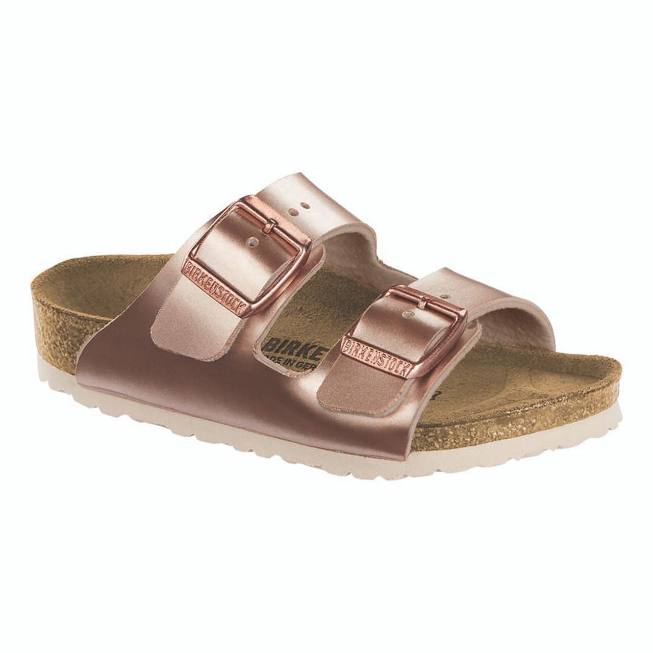 6a6d5076d Kids' Electric Metallic Copper Birko-Flor Arizona Essentials Sandals -  TYLER'S