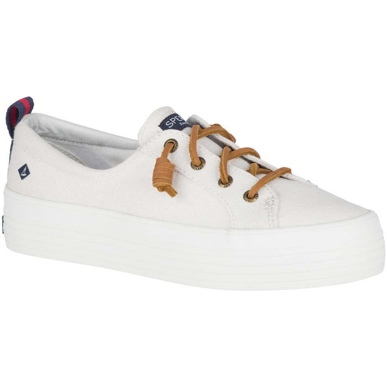Crest Triple Sneakers - White