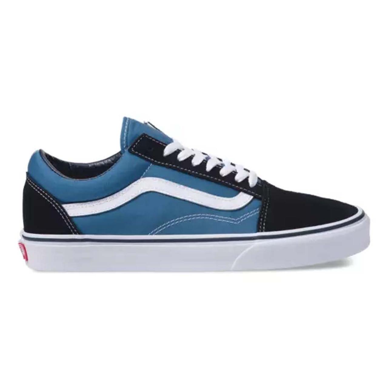 Vans Men's Old Skool Shoes NavyWhite