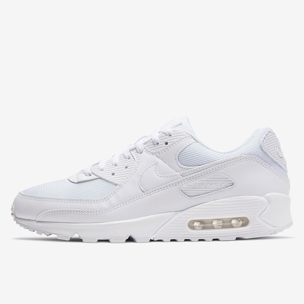 Nike Men's Air Max 90 Shoes - White