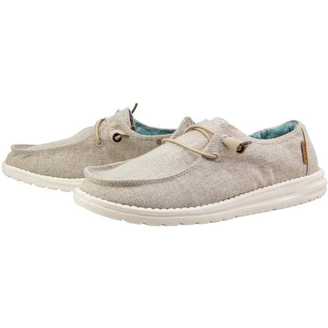 Hey Dude Women's Wendy Linen Shoes