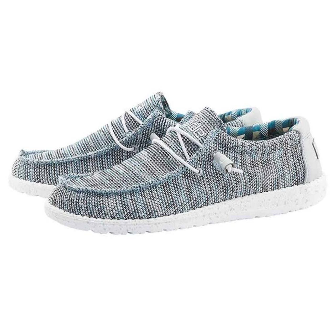 Wally Sox Funk Shoes - Ice Grey