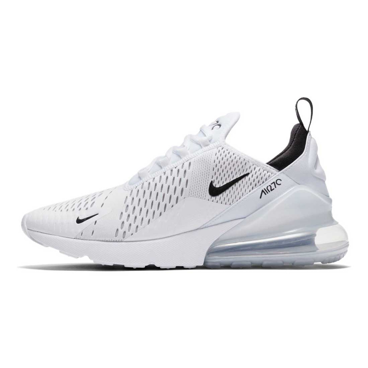 735e988442fe9 Men's White/Black Air Max 270 Shoes - TYLER'S