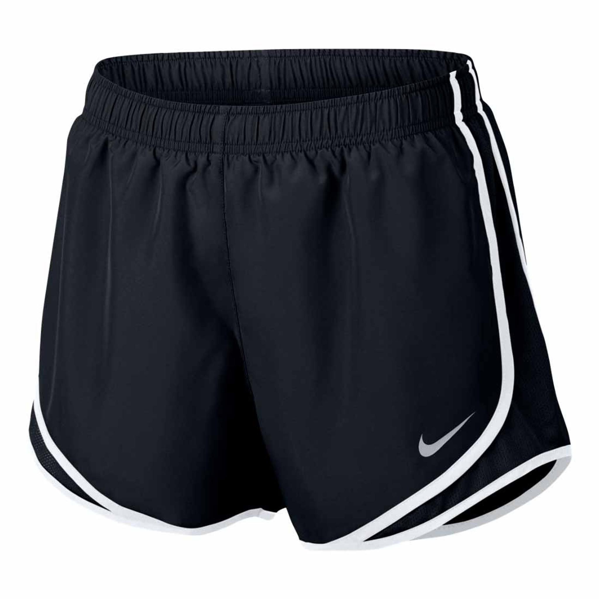 b3aca46c8a20 Women s Black White Nike Tempo Running Shorts - TYLER S