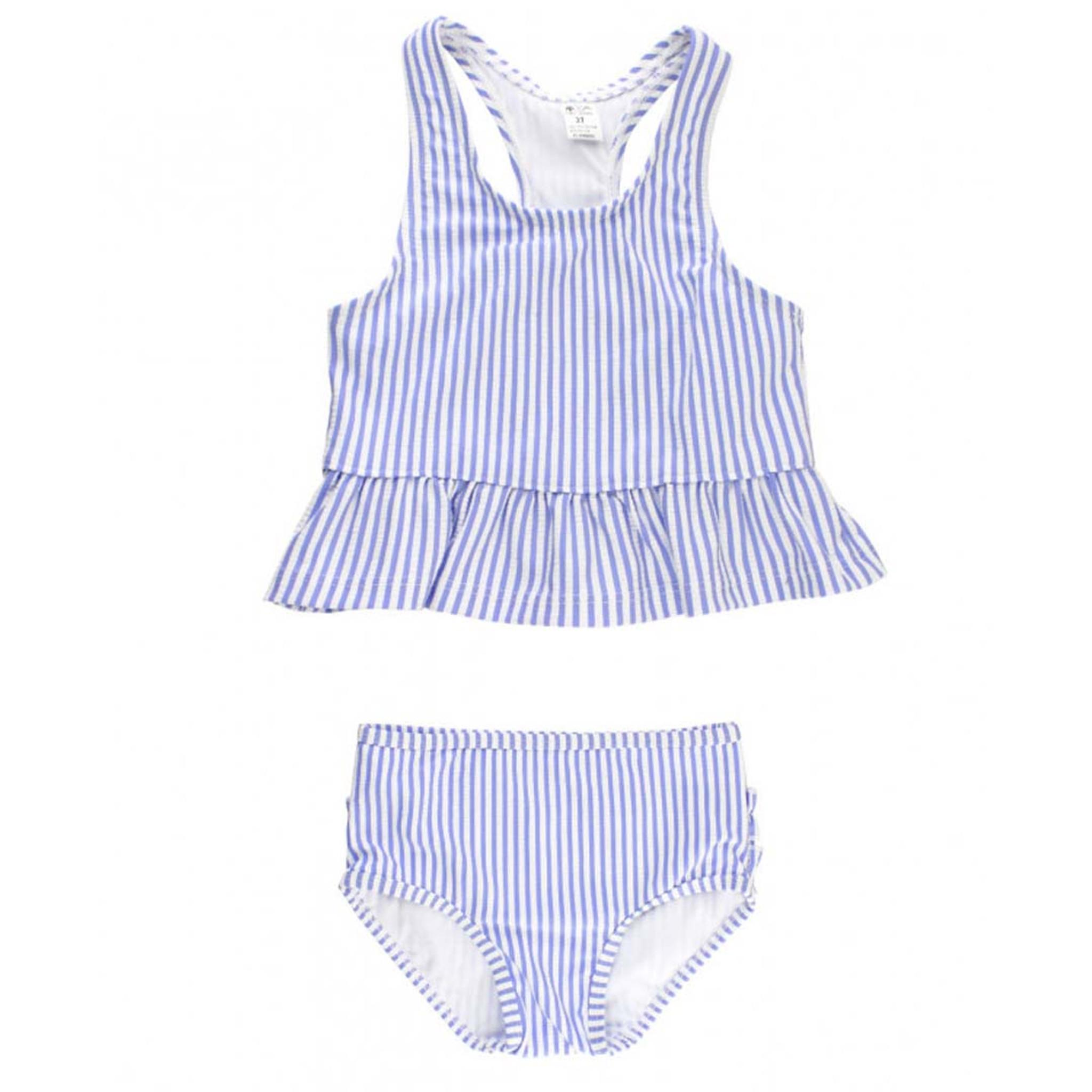 Toddlers  Periwinkle Blue Seersucker Tankini Set - TYLER S 7da8e4fc75a2
