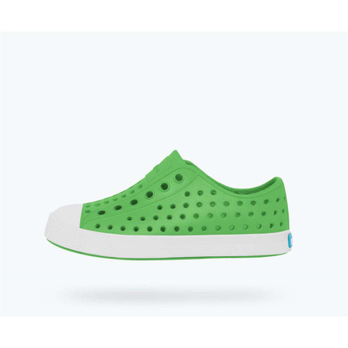 cd77b9509d75f Big Kids  Grasshopper Green Shell White Jefferson Shoes