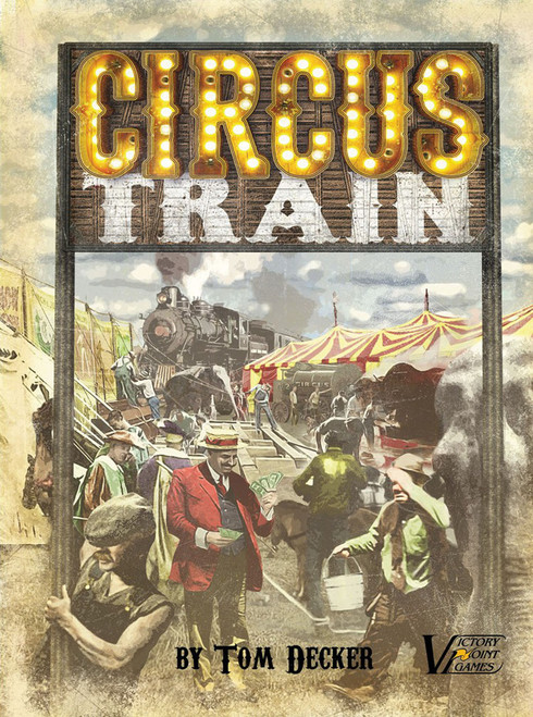 Circus Train 2nd Edition Game