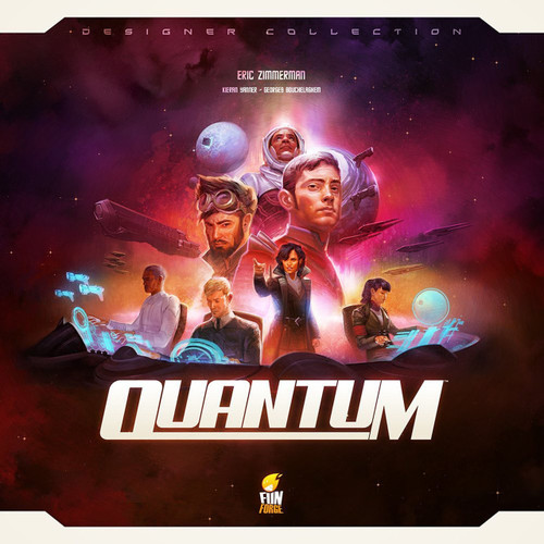 Quantum Revised Edition, Board Game of strategy and space conquest