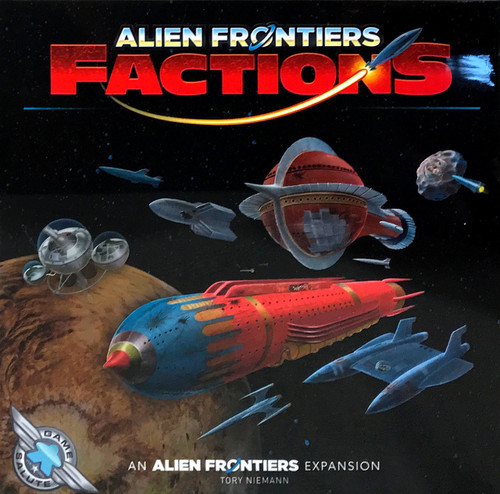 Alien Frontiers Factions 3rd Edition Board Game Expansion