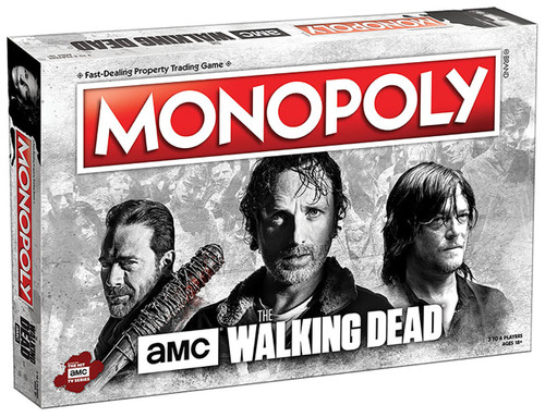 Monopoly: AMC The Walking Dead Collector's Edition board game