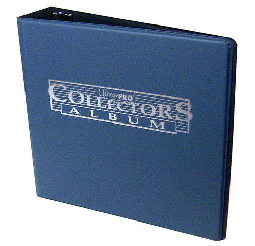 """3"""" Ultra Pro Collectors Album Navy Blue 3-Ring Binder + 50 Pages of 9-pocket"""