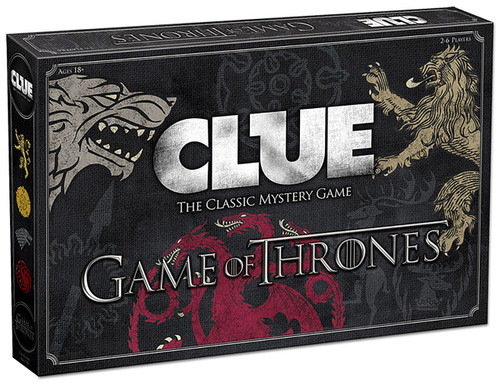 Clue - Game of Thrones Board Game