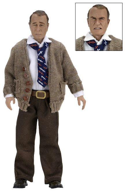 """A Christmas Story, Old Man 8"""" Clothed Action Figure by NECA"""