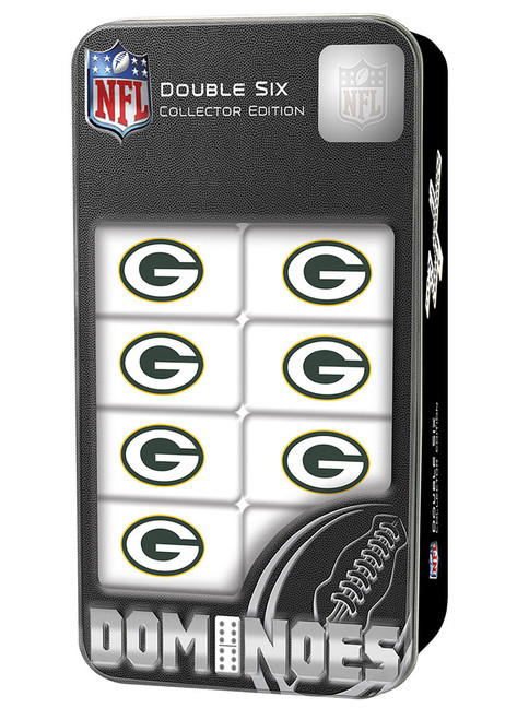 Green Bay Packers NFL Double-Six Collector Edition Dominoes