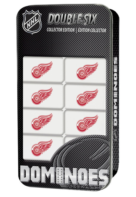 Detroit Red Wings NHL Double-Six Collector Edition Dominoes