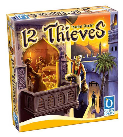 12 Thieves (formerly Thief of Baghdad) Board Game
